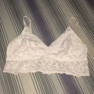Pink bralette in a light pink shade size    A-C